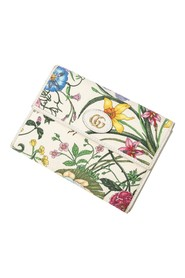 Floral Front Logo Card Holder