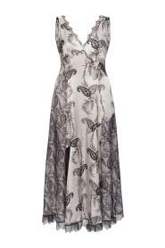 'Nysa' patterned dress