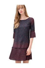 klänning With Floral Fantasy - F120W14022W00464