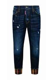 Workwear Check Wash Jeans
