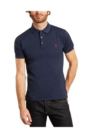 Logo slim fit polo shirt
