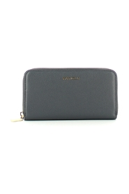 Metallic Soft Zip Around Wallet