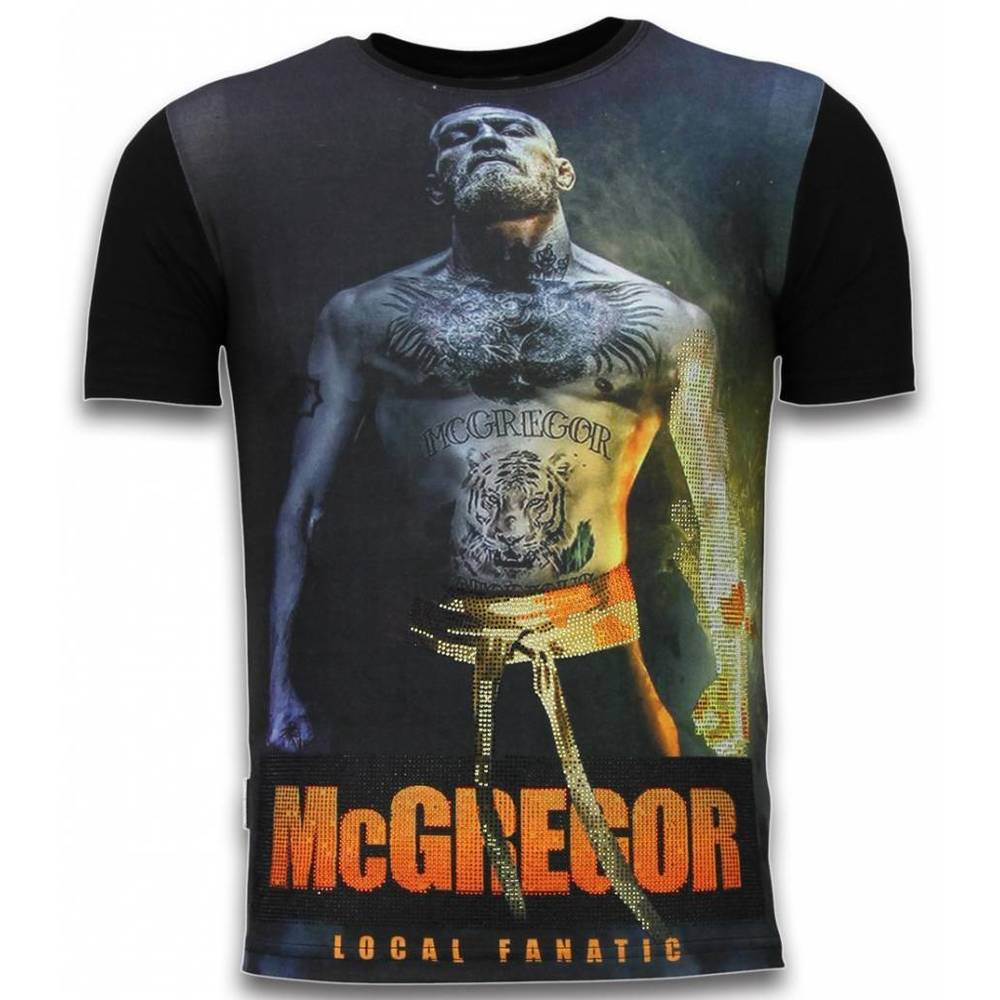 McGregor Fire Arm - Digital Rhinestone T-shirt