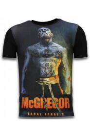 McGregor Fire Arm - Digital Rhinestone T-shirt