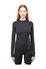 Classic Seamless Knit Long-Sleeved Top