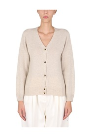 CARDIGAN WITH MOTHER OF PEARL BUTTONS