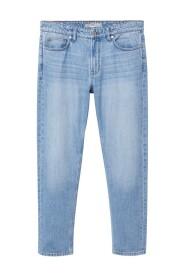 Straight-fit light wash Bob jeans