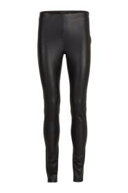Strekk Leather Bukser