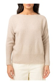 Soft Wide Crewneck Genser