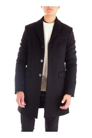 PATRIZIA PEPE 5S0676/A2VD Overcoat Men BLACK