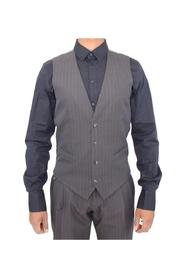 Striped Formal Vest