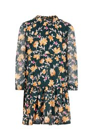Dress lightweight woven floral print