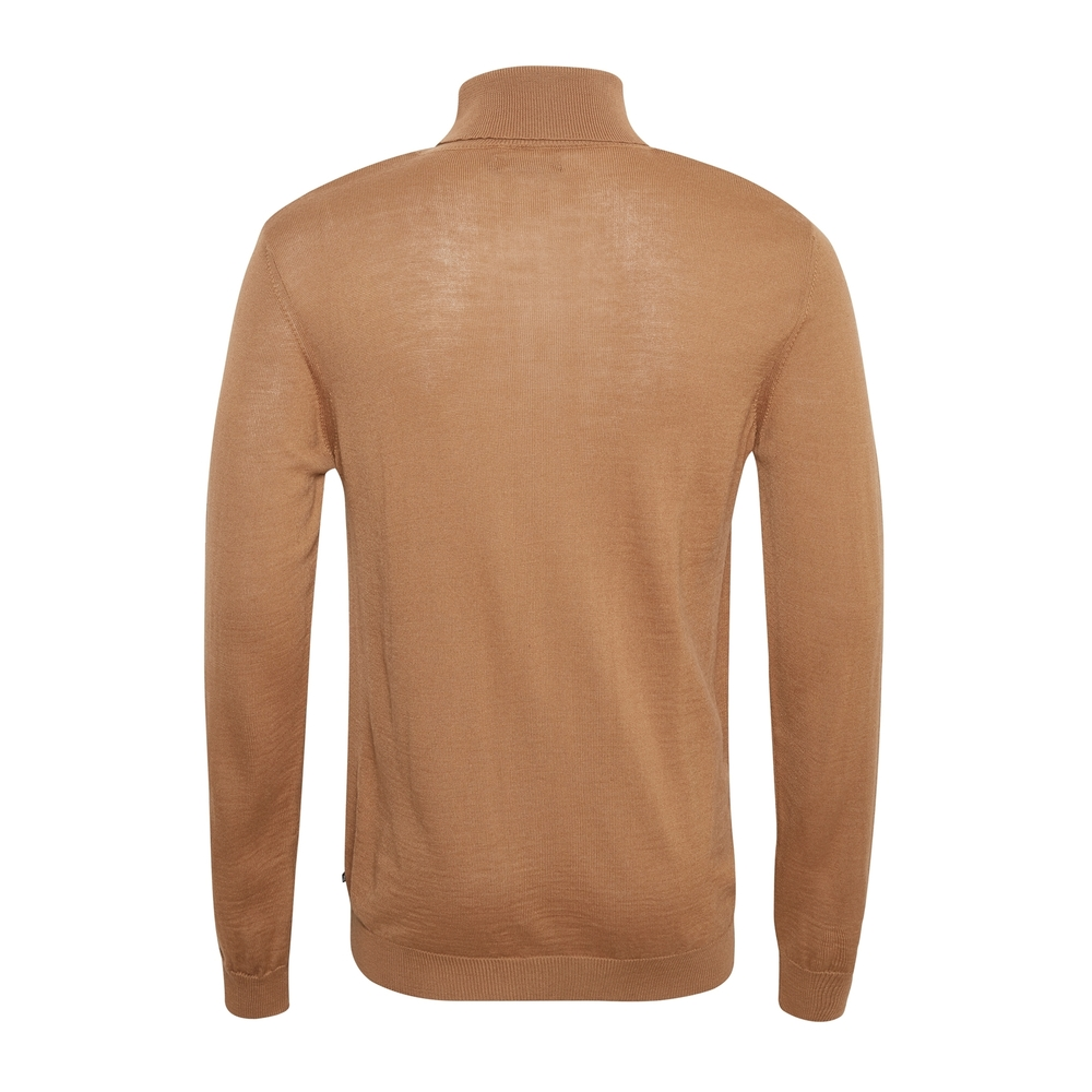 Orange turtleneck | Matinique | Truien  Vesten | Heren winter kleren