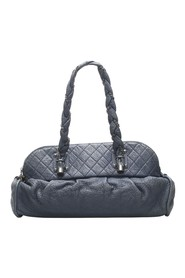 Lady Braid Lambskin Leather Shoulder Bag