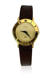 Stainless Steel 3001 Watch Leather Strap