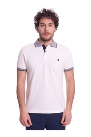 SLIM FIT POLO WITH CONTRASTS