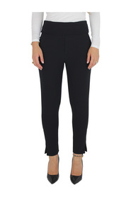 Long high-waisted trousers