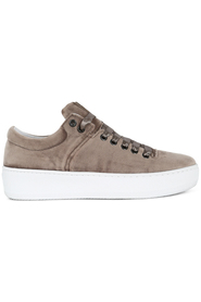Jim Rickey cloud fat velvet light khaki sko