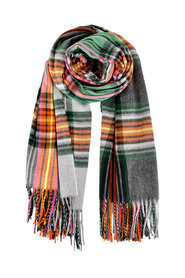 NOBLE CHECK SCARF