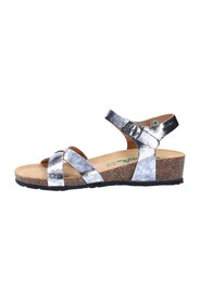 Sandals with wedge