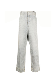 STONE WASH DIRTY TROUSERS