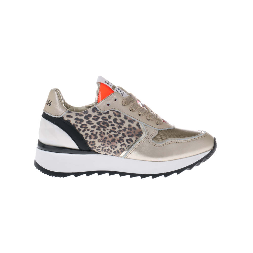 HIP H1789 Sneakers Panter Goud