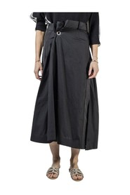 Long Skirt with side zip