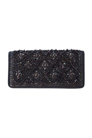 Runway Beaded Handmade Clutch