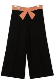 WIDE BOW TROUSERS