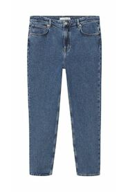 Hillary loose-fit dark wash jeans