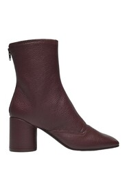 Double Function Ankle Boots Leather