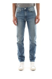 CALVIN KLEIN JEANS J30J308192 SLIM WEST JEANS Men DENIM MEDIUM BLUE