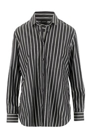 Shirt Collar Front button closure Long sleeves and button cuffs Regular fit