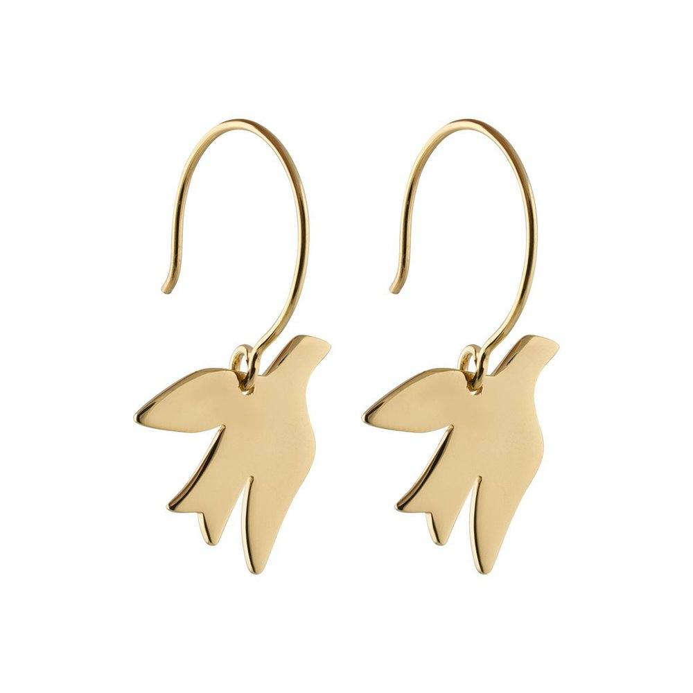 Birdy earrings gold - Syster P