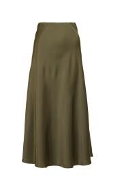 Bovary mjuk satin kjol