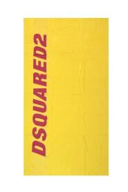 Stor badhandduk med logotyp