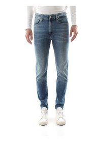CALVIN KLEIN JEANS J30J311693 - 016 SKINNY JEANS Men DENIM MEDIUM BLUE
