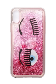 Cover per Iphone X/XS flirting liquid glitter