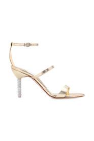 Rosalind sandals with decorative heel