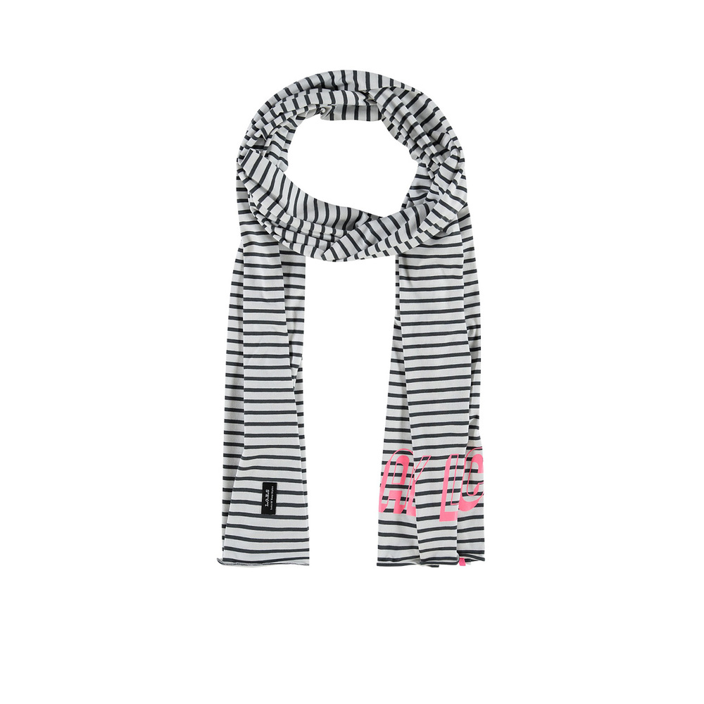 Roulette scarf tricot streep