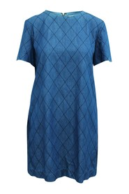 Quilted Shift Dress
