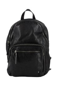 Soft backpack with double zip