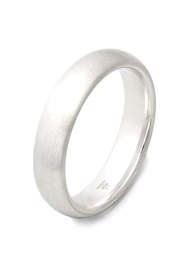 Jewellery Classic Band Medium Satin Ring