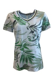 T-Shirt with jungle print S1130