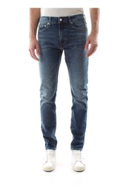 CALVIN KLEIN JEANS J30J309764 SLIM WEST JEANS Men DENIM MEDIUM BLUE