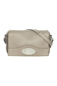 pre-owned Selleria Leather Crossbody Bag