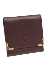 Must de Cartier Leather Small Wallet