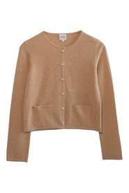 Want Cashmere Cardigan