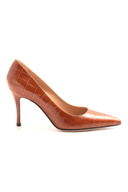 Shoes With Heel Leather