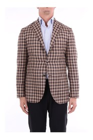 BARBA GJIMMY0808 Blazer Men Dark brown and camel
